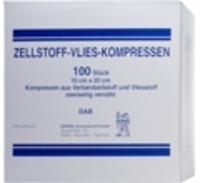 ZELLSTOFF VLIES KOMPRESSEN 10x20 cm unsteril