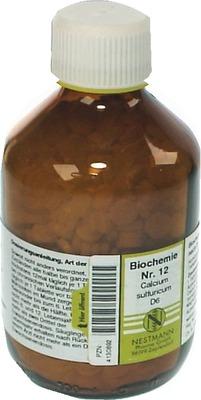 BIOCHEMIE 12 Calcium sulfuricum D 6 Tabletten