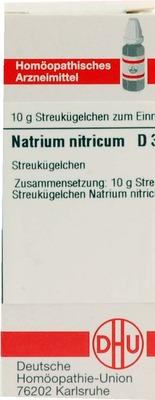 NATRIUM NITRICUM D 3 Globuli