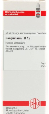 SANGUINARIA D 12 Dilution