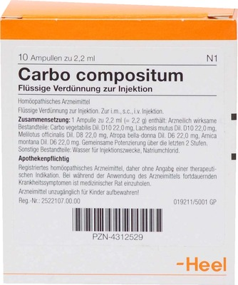 CARBO COMPOSITUM Ampullen