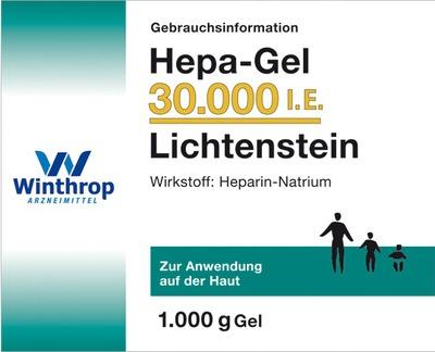 Hepa-Gel 30000 I.E. Lichtenstein