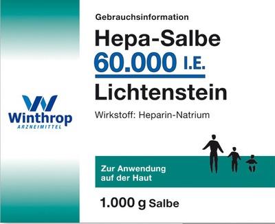 Hepa-Salbe 60000 I.E. Lichtenstein