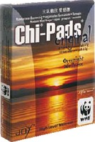CHI PADS Mandarin.Baumessig Fußreflexzonen Pads