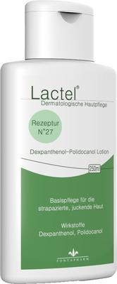 LACTEL Nr.27 5% Dexpanthenol u.Polidocanol Lotion
