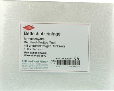 BETTEINLAGE Frottee 100x140 cm