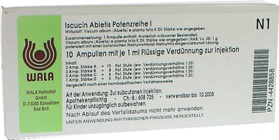 ISCUCIN abietis Potenzreihe I Ampullen