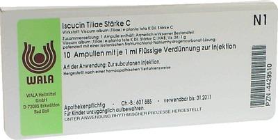 ISCUCIN tiliae Stärke C Ampullen