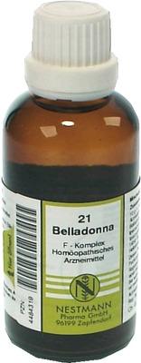 BELLADONNA F Komplex Nr.21 Dilution