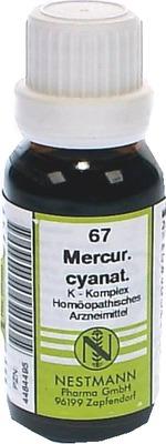 MERCURIUS CYANATUS K Komplex Nr.67 Dilution