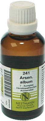 ARSENICUM ALBUM F Komplex Nr.241 Dilution