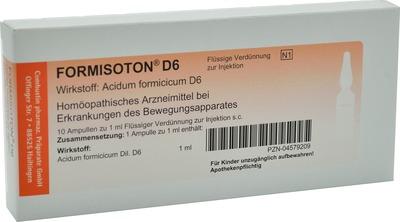 FORMISOTON D 6 Ampullen