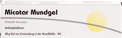 Micotar Mundgel