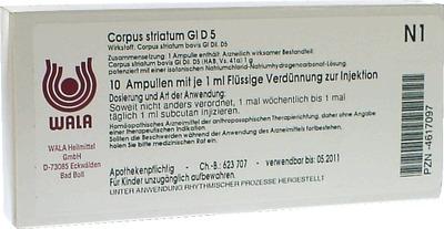 CORPUS STRIATUM GL D 5 Ampullen