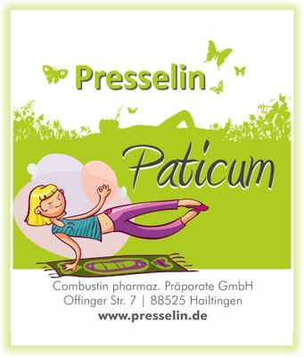 PRESSELIN Paticum Presslinge