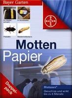 BAYER Garten Mottenpapier Blattanex