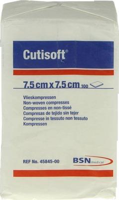 CUTISOFT Vlieskompressen 7,5x7,5 cm unsteril
