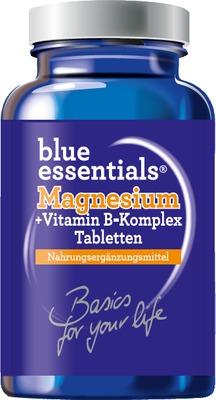 BLUE ESSENTIALS Magnesium plus Vitamin B Tabletten
