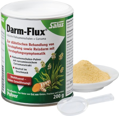 DARM-FLUX Indische Flohsamenschalen+Curcuma Salus