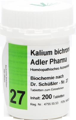 BIOCHEMIE Adler 27 Kalium bichrom D 12 Tabletten