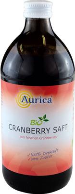 CRANBERRY 100% Direktsaft Bio