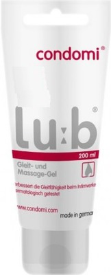 CONDOMI Lub Gleit- u. Massagegel