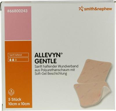ALLEVYN Gentle 10x10 cm Schaumverb.