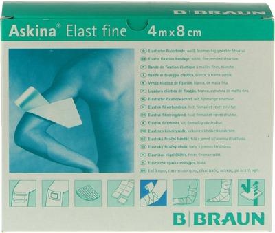 ASKINA Elast Fine Binde 8 cmx4 m lose