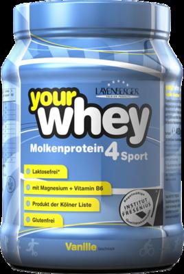 LAYENBERGER YourWhey Molkenprot.4 Sport Vanille