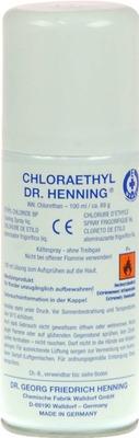 Chloraethyl Dr. Henning Spraydose