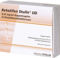 Pharma Stulln GmbH Ketotifen Stulln UD 0,25mg/ml Augentropfen 07004515