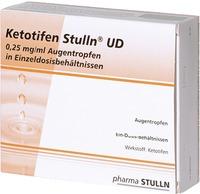 Pharma Stulln GmbH Ketotifen Stulln UD 0,25mg/ml Augentropfen 07004596