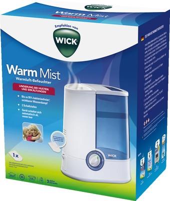 WICK Warmluftbefeuchter WH750DA