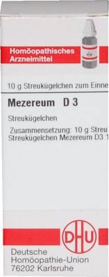 MEZEREUM D 3 Globuli