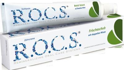 ROCS Erwachsene Doppelminze Zahnpasta