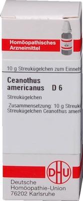 CEANOTHUS AMERICANUS D 6 Globuli