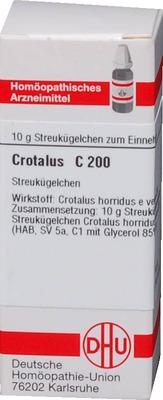 CROTALUS C 200 Globuli