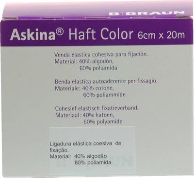 ASKINA Haftbinde Color 6 cmx20 m blau