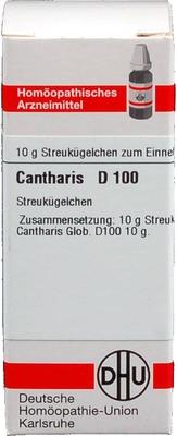 CANTHARIS D 100 Globuli