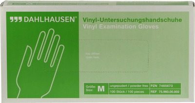 P. J. Dahlhausen & Co. GmbH VINYL Handschuhe ungepudert Gr.M 07485673
