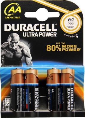 Duracell Germany GmbH DURACELL Ultra Power AA (MN1500/LR6) K4 m.Powerch. 07704804