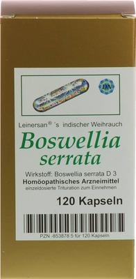 BOSWELLIA SERRATA L.ind.Weihrauch Kapseln