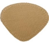 AUGENKLAPPE mit Gummiband sand