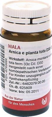 ARNICA E Planta tota D 30 Globuli