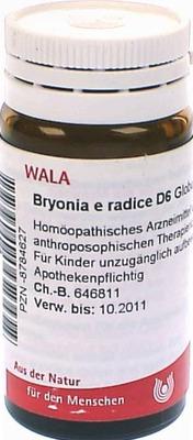 BRYONIA E radice D 6 Globuli