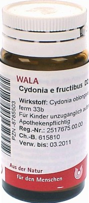 CYDONIA e fructibus D 2 Globuli