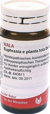 EUPHRASIA E planta tota D 4 Globuli