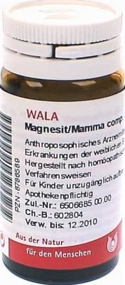 MAGNESIT/MAMMA comp.Globuli