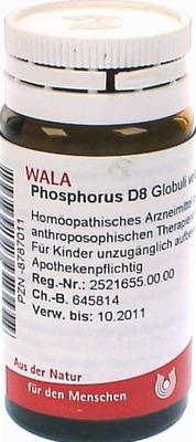 PHOSPHORUS D 8 Globuli