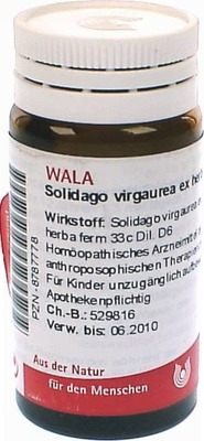 SOLIDAGO VIRGAUREA ex herba D 6 Globuli